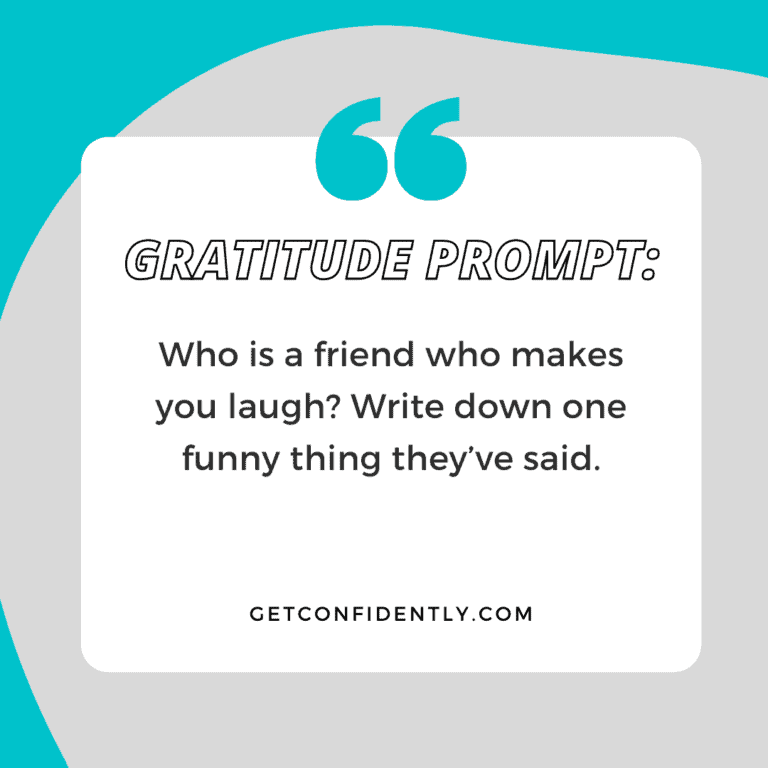 Gratitude Prompt Friend